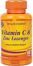 """Fragrances, Perfumes, Cosmetics Food Supplement """"Vitamin C & Zinc"""" - Holland & Barrett Vitamin C & Zinc Lozenges"""
