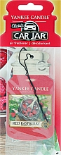 Fragrances, Perfumes, Cosmetics Car Air Freshener - Yankee Candle Car Jar Red Raspberry
