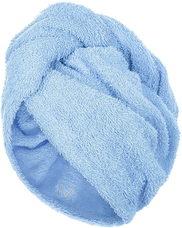 Drying Hair Towel Wrap, blue - MakeUp