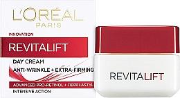 Fragrances, Perfumes, Cosmetics Anti-Wrinkle Face Cream - L'Oreal Paris RevitaLift Anti-Wrinkle + Extra Firming Day Cream