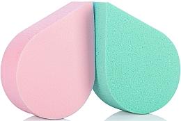 Fragrances, Perfumes, Cosmetics Makeup Sponge, 35814, green + pink - Top Choice