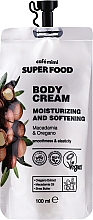 Fragrances, Perfumes, Cosmetics Moisturizing & Softening Macadamia & Oregano Body Cream - Cafe Mimi Super Food