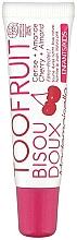 "Fragrances, Perfumes, Cosmetics Lip Balm ""Sweet Kiss. Cherry and Almond"" - TOOFRUIT Bisou Doux Mademoiselle Lip Balm Cherry Almond"