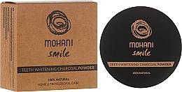 Fragrances, Perfumes, Cosmetics Whitening Tooth Powder - Mohani Smile Teeth Whitening Charcoal Powder