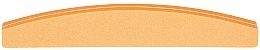 Fragrances, Perfumes, Cosmetics Double-Sided Nail Buffer, semicircle 100/180, orange - Tools For Beauty