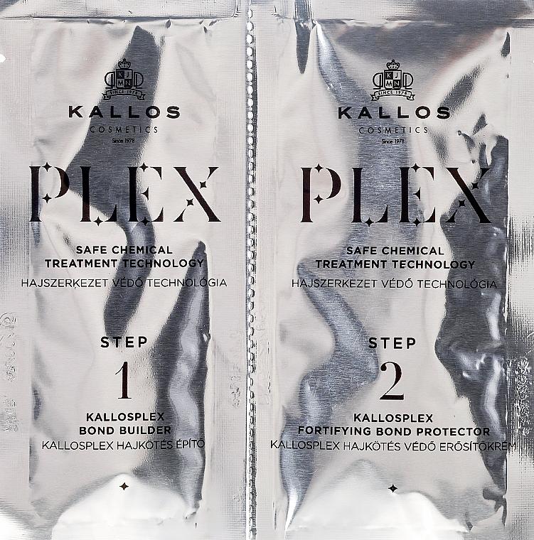 Safe Chemical Treatment Ampoules - Kallos Cosmetics PLEX Safe Chemical Treatment Technology