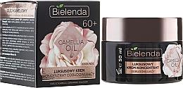 Fragrances, Perfumes, Cosmetics Regenerating Cream-Concentrate 60+ - Bielenda Camellia Oil Luxurious Rebuilding Cream 60+