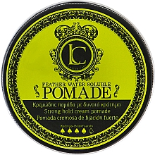 Fragrances, Perfumes, Cosmetics Men Strong Hold Hair Pomade - Lavish Care Feather Water Soluble Pomade Strong Hold