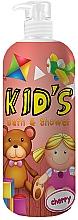 Fragrances, Perfumes, Cosmetics Bath & Shower Gel Foam - Hegron Kid's Cherry Bath & Shower