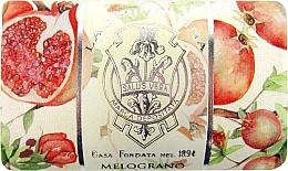 Fragrances, Perfumes, Cosmetics Pomegranate Soap Bar - La Florentina Pomegranate Bath Soap