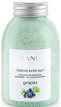 "Fragrances, Perfumes, Cosmetics Fizzy Bath Salt ""Grape"" - Kanu Nature Grapes Fizzing Bath Salt"