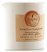 "Fragrances, Perfumes, Cosmetics Massage Candle ""Smoothing Caramel"" - Flagolie Caramel Smoothing Massage Candle"