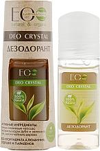 "Fragrances, Perfumes, Cosmetics Body Deodorant ""Oak Bark and Green tea"" - ECO Laboratorie Deo Crystal"