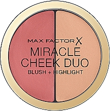 Fragrances, Perfumes, Cosmetics Face Contour Palette - Max Factor Miracle Cheeck Duo