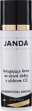 Fragrances, Perfumes, Cosmetics Correctoring Day Cream for Vascular Skin - Janda Correcting CC Cream