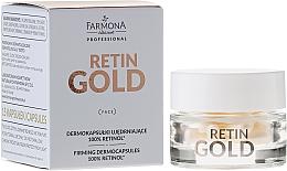 Fragrances, Perfumes, Cosmetics Retinol Concentrate Capsules - Farmona Retin Gold Firming Dermocapsules 100% Retinol