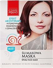 "Fragrances, Perfumes, Cosmetics Face Mask ""Snail"" - Czyste Piekno Snail Face Mask"