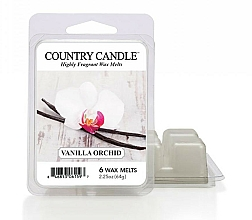 Fragrances, Perfumes, Cosmetics Wax for Aroma Lamp - Country Candle Vanilla Orchid Wax Melts