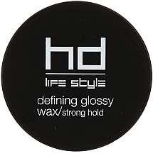 Fragrances, Perfumes, Cosmetics Strong Hold Glossy Wax - Farmavita HD Defining Glossy Wax/Strong Hold