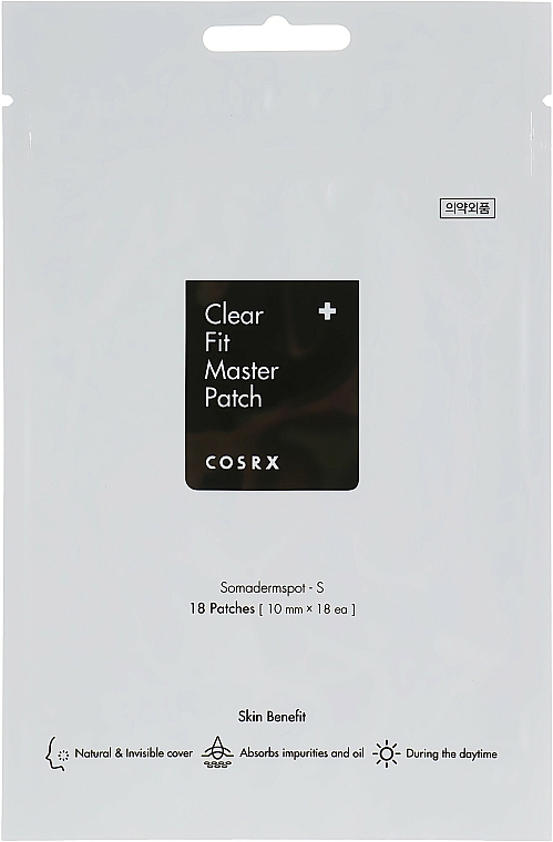 Anti-Acne Patches - Cosrx Clear Fit Master Patch