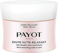 Fragrances, Perfumes, Cosmetics Ultra Nourishing Body Balm - Payot Corps Relaxant Baume Nutri-Relaxant