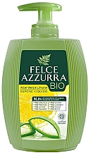 "Fragrances, Perfumes, Cosmetics Liquid Soap ""Aloe & Lemon"" - Felce Azzurra BIO Aloe Vera & Lemon Liquid Soap"