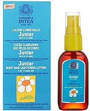 Fragrances, Perfumes, Cosmetics Junior Body Hair Lightening Lotion with Chamomile Extract - Intea Premium Junior Body Hair Lightening Spray With Natural Camomile Extract