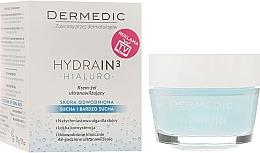 Fragrances, Perfumes, Cosmetics Moisturizing Facial Cream Gel - Dermedic Hydrain3 Hialuro