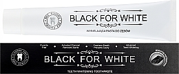 Fragrances, Perfumes, Cosmetics Activated Charcoal Toothpaste - Biomika Black For White Teeth Paste