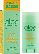 Fragrances, Perfumes, Cosmetics Sunscreen Stick - Holika Holika Aloe Soothing Essence Water Drop Sun Stick SPF50+