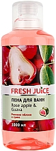 "Fragrances, Perfumes, Cosmetics Bubble Bath ""Rose Apple and Guava"" - Fresh Juice Rose Apple and Guava"