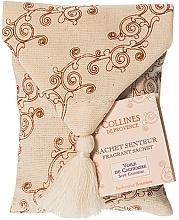 Fragrances, Perfumes, Cosmetics Soft Cashmere Scented Sachet in Pouch - Collines de Provence Soft Cashmere
