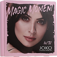Fragrances, Perfumes, Cosmetics Set - Joko Makeup Magic Moment (eye/shadow/7g + n/polish/10ml + mascara/9ml)