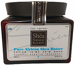 Fragrances, Perfumes, Cosmetics Repair Hair Oil-Cream - Saryna Key Curl Control Pure African Shea Butter