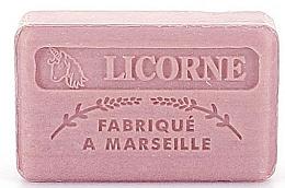 """Fragrances, Perfumes, Cosmetics Marseilles Soap """"Unicorn"""" - Foufour Savonnette Marseillaise Licorne"""