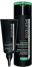 Fragrances, Perfumes, Cosmetics Hair Care Kit - Collistar Rebalancing Anti-Dandruff Treatment (shmp/200ml + scr/50ml)