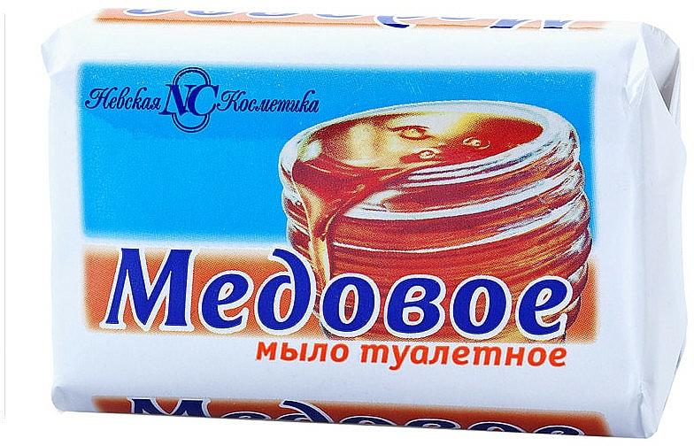 """Toilet Soap """"Honey"""" - Nevskaya Kosmetika"""
