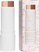 Fragrances, Perfumes, Cosmetics Face Corrector Stick - Doll Face Contour Wizard Contour Split Sticks