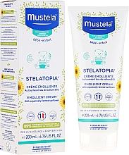 Fragrances, Perfumes, Cosmetics Dry and Atopic-Prone Skin Cream - Mustela Stelatopia Emollient Cream With Sunflower