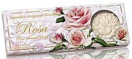 Fragrances, Perfumes, Cosmetics Natural Rose Soap Set - Saponificio Artigianale Fiorentino Rosa Scented Soaps (soap/3pcsx125g)