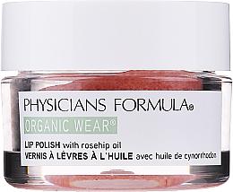 Fragrances, Perfumes, Cosmetics Lip Scrub - Physicians Formula Organic Wear Organic Rose Oil Lip Polish Rose