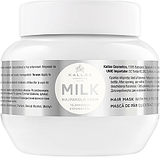 Fragrances, Perfumes, Cosmetics Milk Protein Hair Mask - Kallos Cosmetics Hair Mask Milk Protein