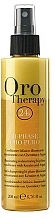 Fragrances, Perfumes, Cosmetics Restructuring Bi-Phase Conditioner Spray with Keratin - Fanola Oro Therapy