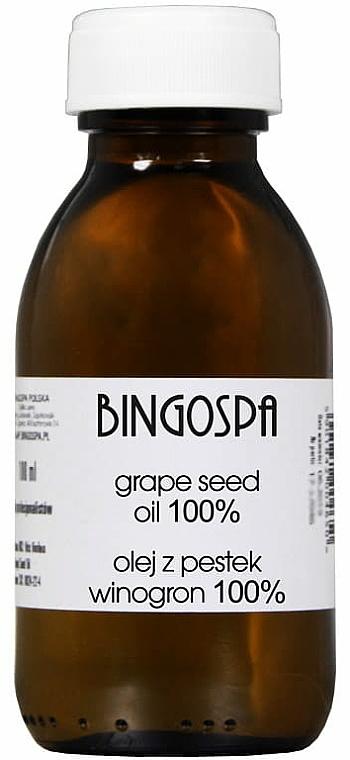 Grape Seed OilC 100% - BingoSpa