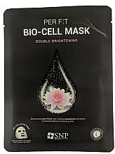 Fragrances, Perfumes, Cosmetics Bio-Cell Lotus & Glutathione Mask - SNP Brightening Bio-cell Mask