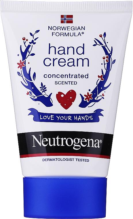 """Scented Concentrated Hand Cream """"Norwegian Formula"""" - Neutrogena Norwegian Formula Concentrated Hand Cream"""