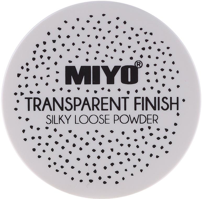 Loose Powder - Miyo Transparent Finish Powder
