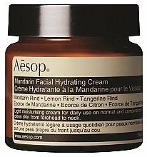 Fragrances, Perfumes, Cosmetics Moisturizing Tangerine Face Cream - Aesop Mandarin Facial Hydrating Cream
