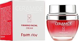 Fragrances, Perfumes, Cosmetics Firming Ceramide Face Cream - FarmStay Ceramide Firming Facial Cream