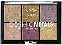 Fragrances, Perfumes, Cosmetics Shadow Palette - NYX Professional Makeup Cosmic Metals Shadow Palette